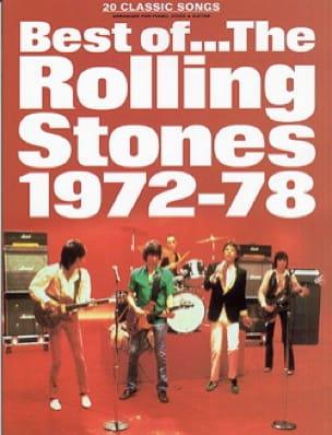 Best Of 1972 - 78 - ROLLING STONES - Partition - laflutedepan.com