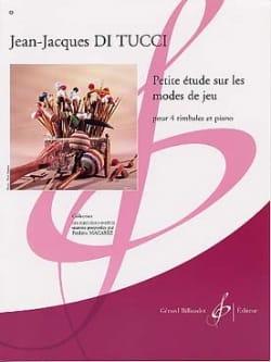Petite Etude Sur les Modes de Jeu Di Tucci Jean-Jacques laflutedepan