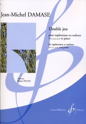 Double Jeu Jean-Michel Damase Partition Tuba - laflutedepan