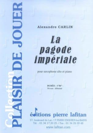 La Pagode Impériale Alexandre Carlin Partition laflutedepan