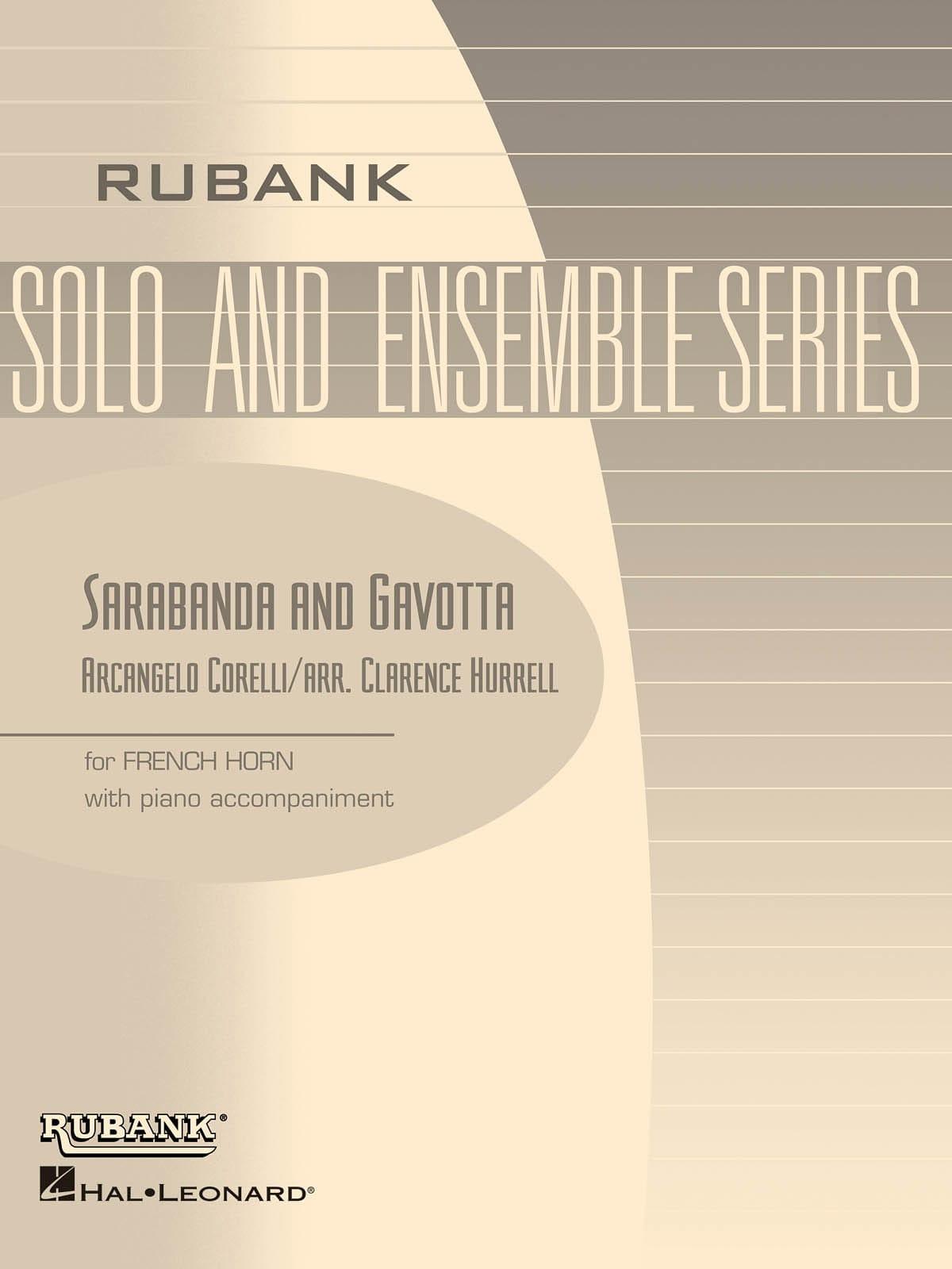 Sarabanda and Gavotta - CORELLI - Partition - Cor - laflutedepan.com