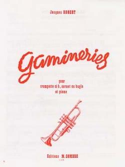 Gamineries Jacques Robert Partition Trompette - laflutedepan