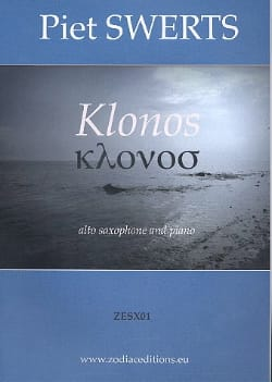Klonos Piet Swerts Partition Saxophone - laflutedepan