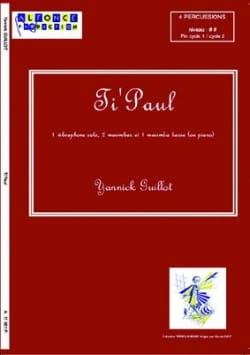 Ti' Paul Yannick Guillot Partition laflutedepan