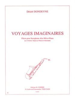 Voyages Imaginaires Désiré Dondeyne Partition Saxophone - laflutedepan