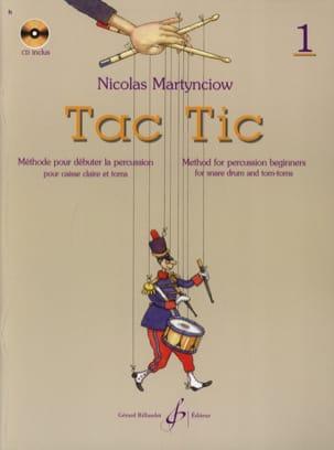 Tac Tic Volume 1 Nicolas Martynciow Partition laflutedepan