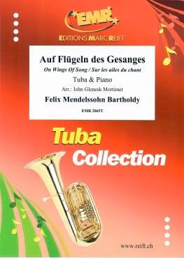 Sur les Ailes du Chant MENDELSSOHN Partition Tuba - laflutedepan