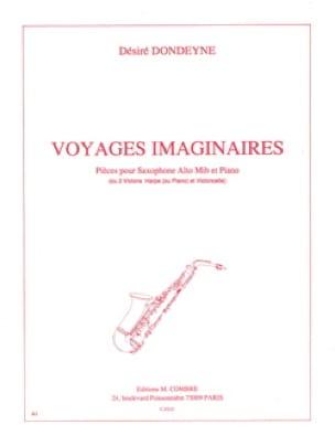 Voyages Imaginaires - Désiré Dondeyne - Partition - laflutedepan.com
