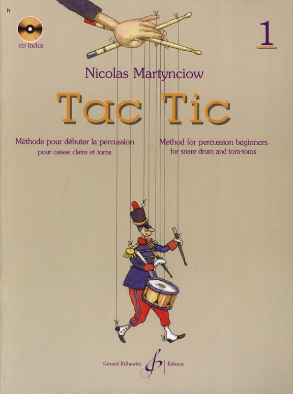 Tac Tic Volume 1 - Nicolas Martynciow - Partition - laflutedepan.com