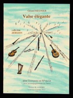 Valse Elégante Gérard Meunier Partition Trompette - laflutedepan
