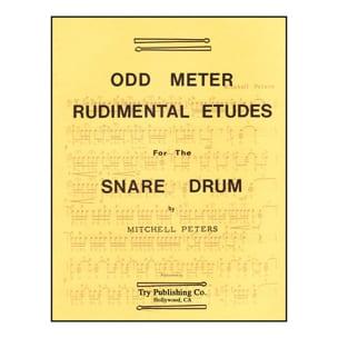 Odd Meter Rudimental Etudes Mitchell Peters Partition laflutedepan