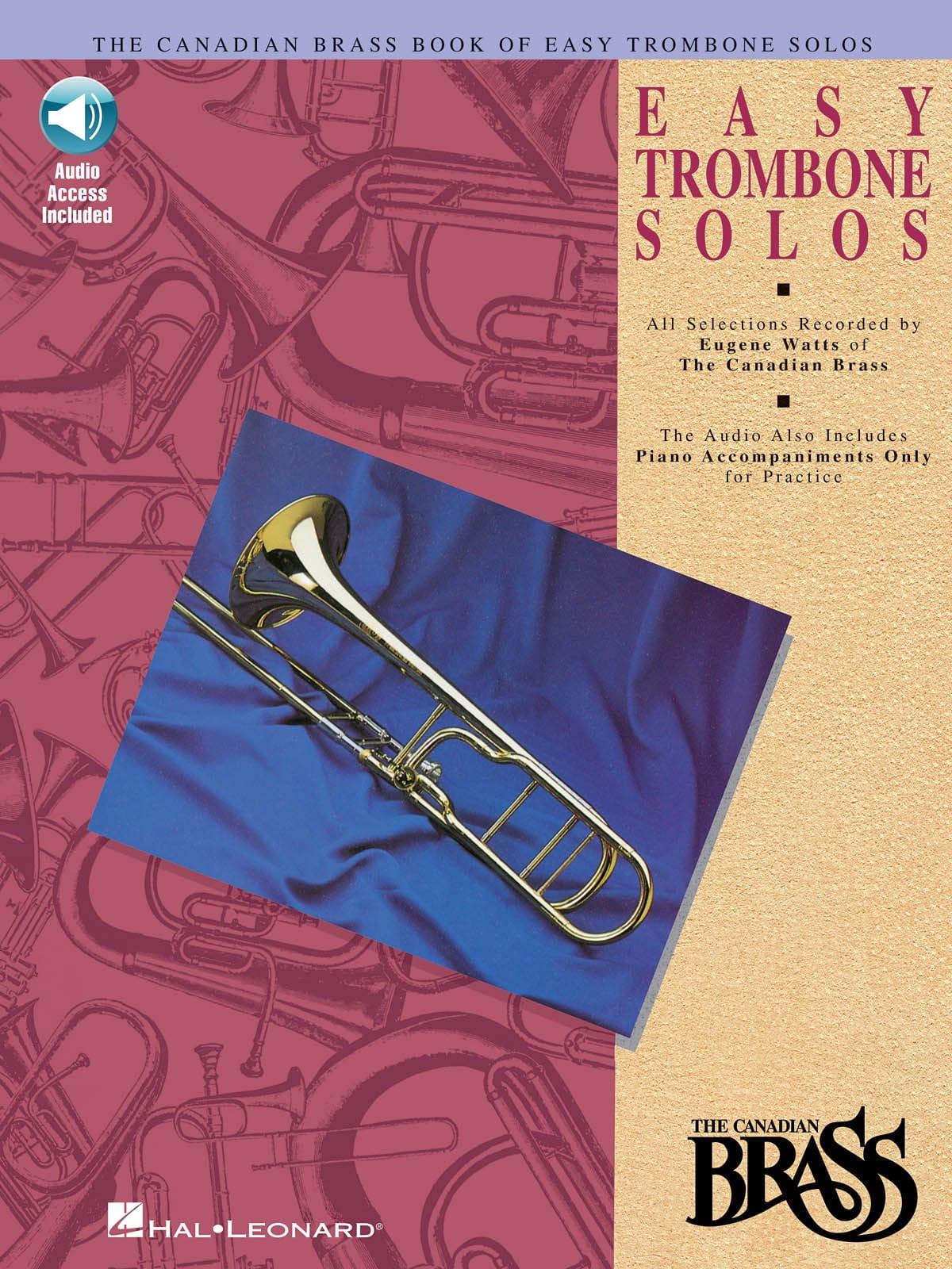 Easy Trombone Solos - Partition - Trombone - laflutedepan.com