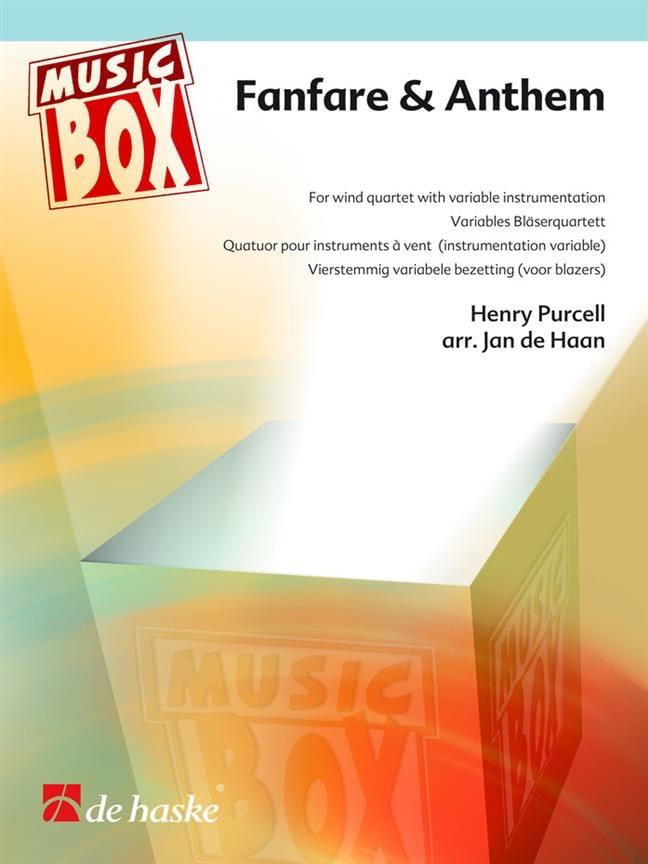 Fanfare & anthem - music box - PURCELL - Partition - laflutedepan.com