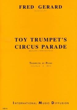 Toy Trumpet's Circus Parade Fred Gérard Partition laflutedepan