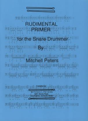 Rudimental Primer Mitchell Peters Partition laflutedepan