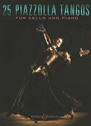 25 Piazzolla Tangos pour Violoncelle et Piano laflutedepan