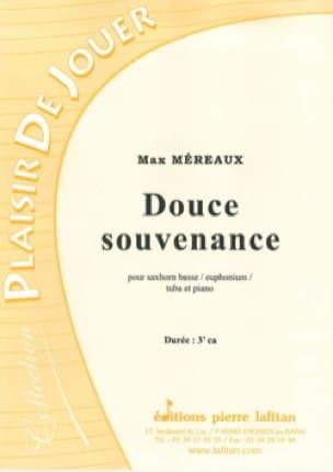 Douce souvenance - Max Méreaux - Partition - Tuba - laflutedepan.com
