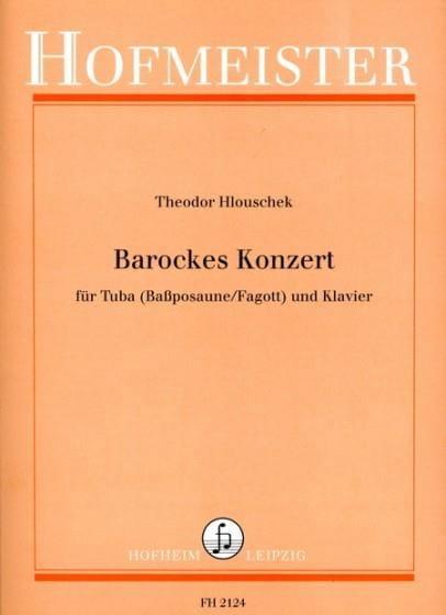 Barockes Konzert - Theodor Hlouschek - Partition - laflutedepan.com