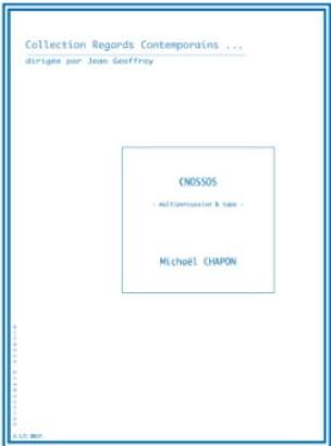 Cnossos - Michaël Chapon - Partition - laflutedepan.com