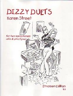 Dizzy Duets Karen Street Partition Saxophone - laflutedepan