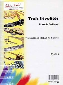 Trois Frivolités Francis Coiteux Partition Trompette - laflutedepan