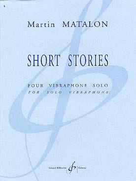 Short Stories Martin Matalon Partition Vibraphone - laflutedepan