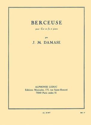 Berceuse Jean-Michel Damase Partition Cor - laflutedepan