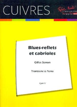 Blues reflets et cabrioles - Gilles Senon - laflutedepan.com