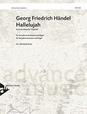Hallelujah HAENDEL Partition Saxophone - laflutedepan