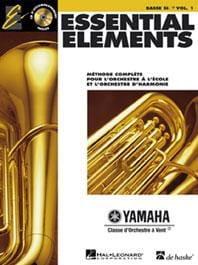 Essential Elements. Basse Sib Fa Volume 1 Partition laflutedepan
