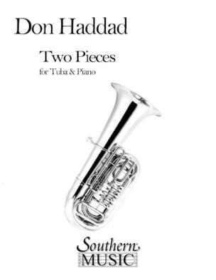 Two Pieces Don Haddad Partition Tuba - laflutedepan
