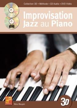 Improvisation Jazz au Piano 3D Manu Maugain Partition laflutedepan