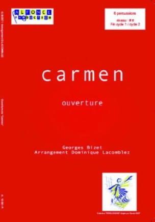 Ouverture de Carmen - BIZET - Partition - laflutedepan.com