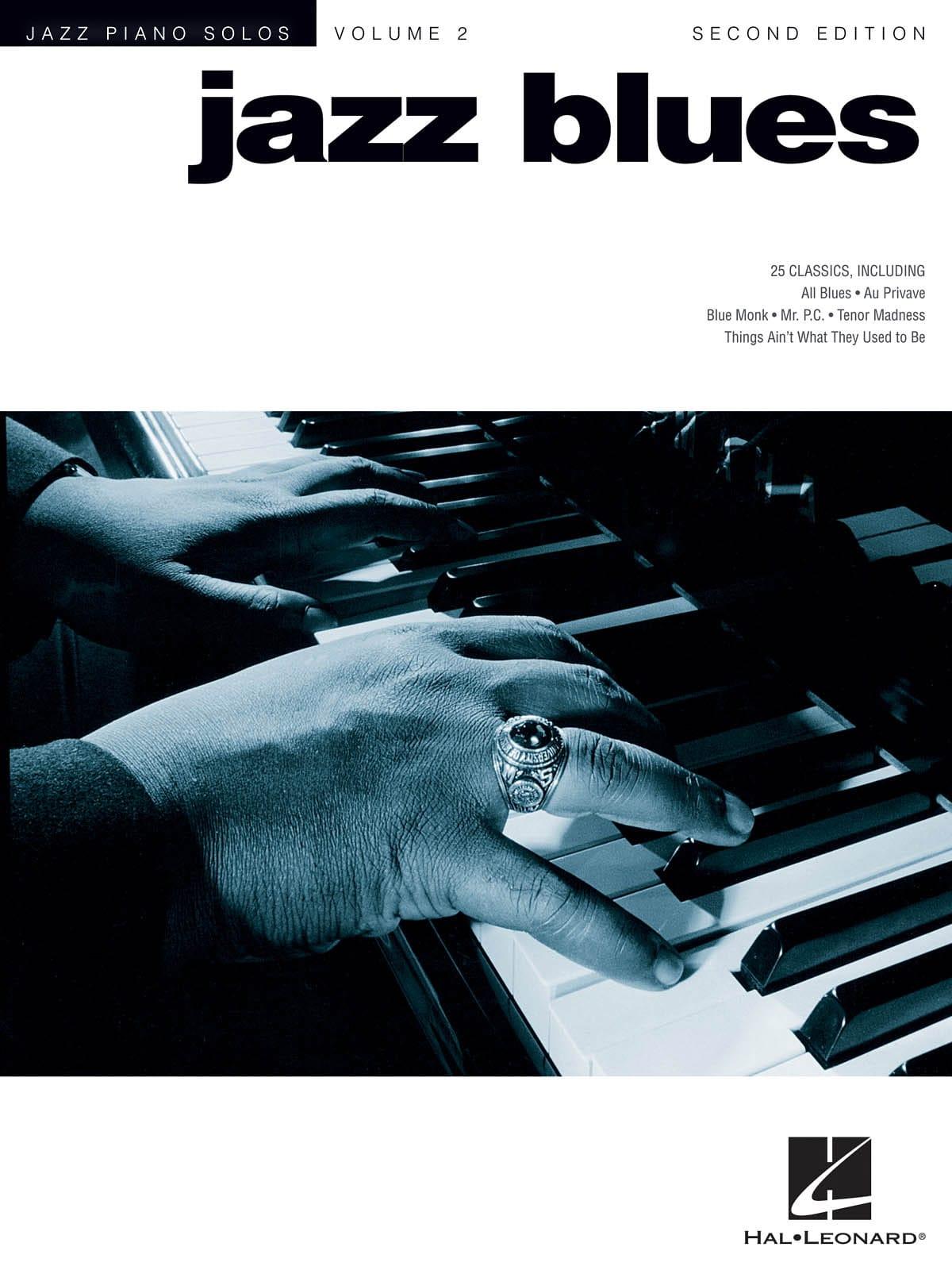 Jazz Piano Solos Series Volume 2 - Jazz Blues - laflutedepan.com