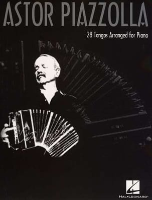 Astor Piazzolla - 28 Tangos arranged for piano - Partition - di-arezzo.ch