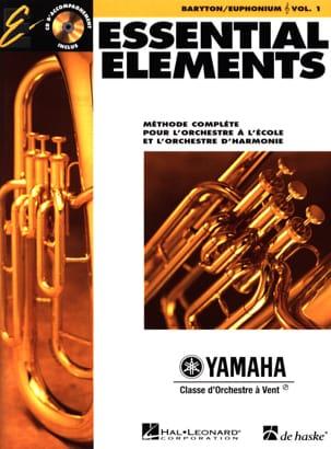 Essential Elements. Baryton / Euphonium Sib Sol Volume 1 laflutedepan