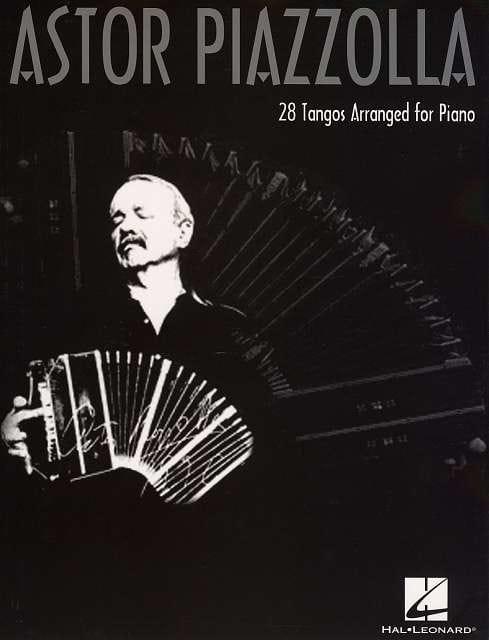 28 Tangos arranged for piano - Astor Piazzolla - laflutedepan.com