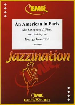 An American In Paris GERSHWIN Partition Saxophone - laflutedepan