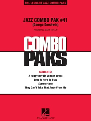 Jazz Combo Pak #41 George Gershwin GERSHWIN Partition laflutedepan