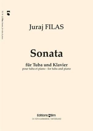 Sonate Juraj Filas Partition Tuba - laflutedepan