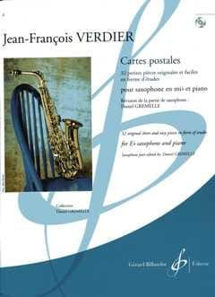 Cartes postales Jean-Francois Verdier Partition laflutedepan