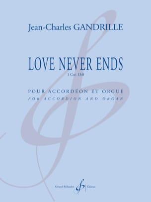 Love Never Ends - Jean-Charles Gandrille - laflutedepan.com
