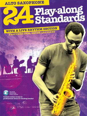 24 Play-Along Standards With A Live Rhythm Section laflutedepan