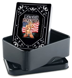 Lynyrd Skynyrd Playing Cards Jeu Musical Accessoire laflutedepan