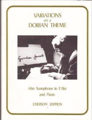 Variations On A Dorian Theme - Gordon Jacob - laflutedepan.com