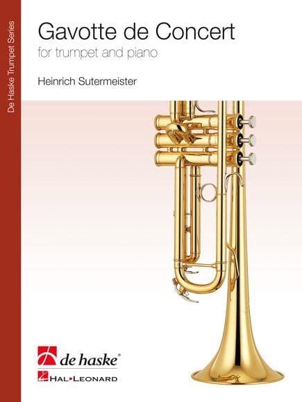 Gavotte de Concert - Heinrich Sutermeister - laflutedepan.com