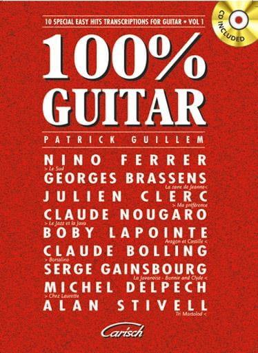100% Guitare Volume 1 - Partition - Guitare - laflutedepan.com