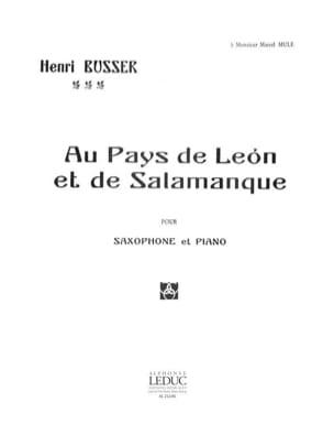 Au Pays de Leon et de Salamanque, Opus 116 Henri Busser laflutedepan