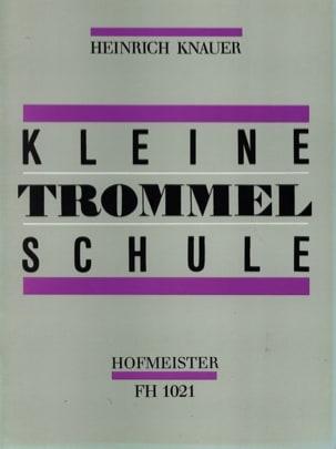 Kleine Trommel Schule Heinrich Knauer Partition laflutedepan