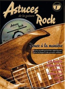 Astuces de la Guitare Rock Volume 1 COUP DE POUCE laflutedepan